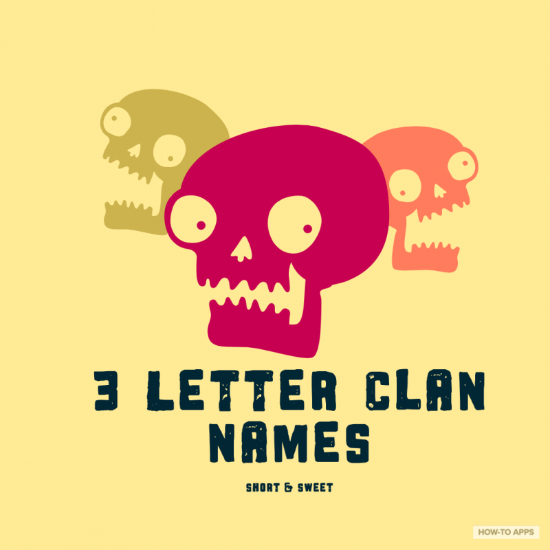 1 900 Good Clan Names To Make Your Enemy Tremble How To Apps
