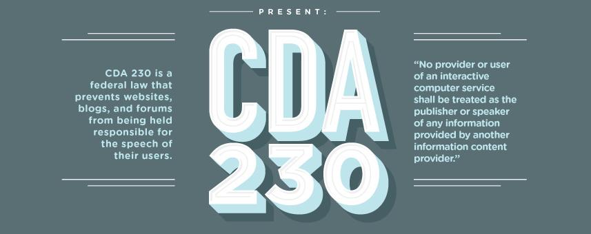 CDA 230 law